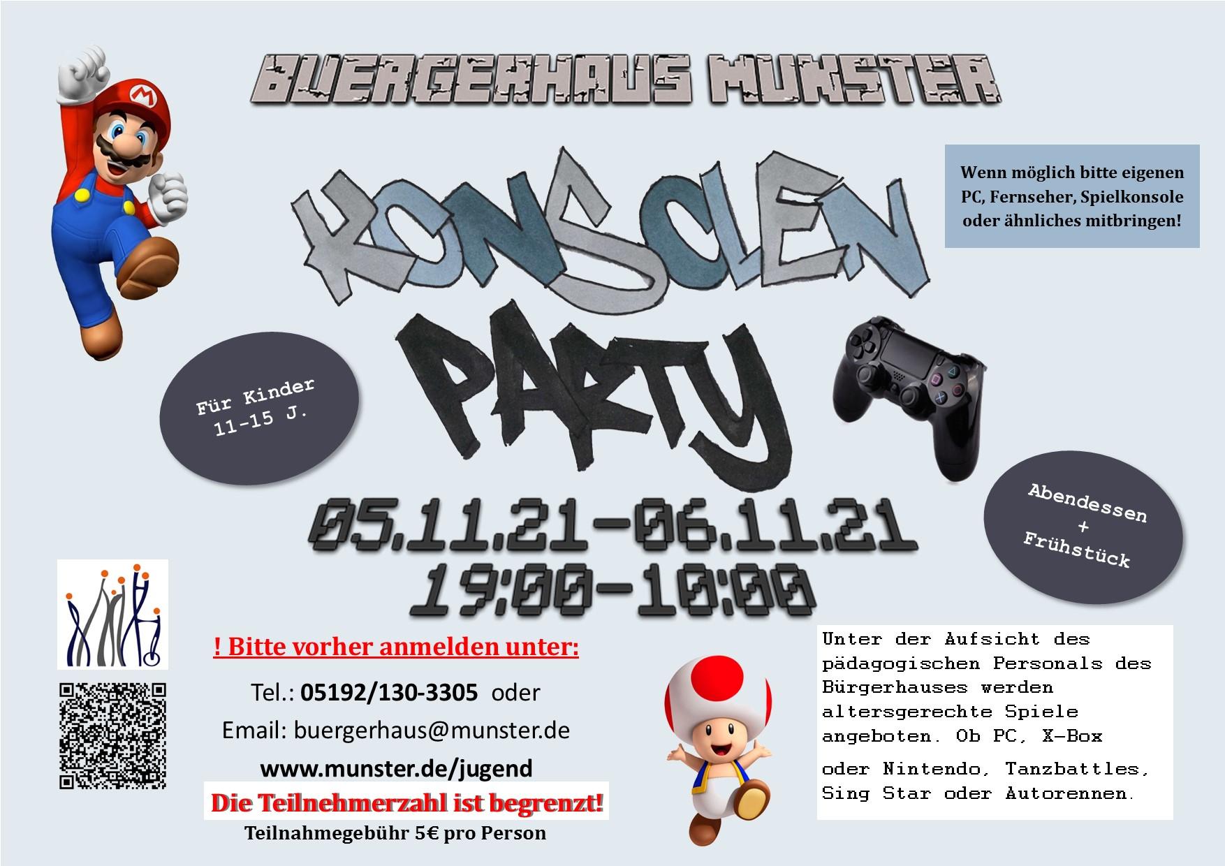 Konsolen Party 21