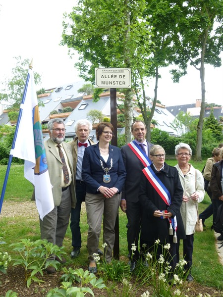 Besuch in Ergagny 2015